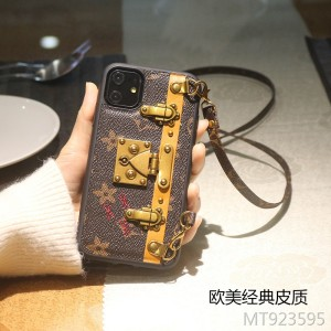 iphonex mobile phone case 7plus strap bracket lanyard