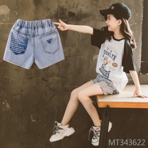 2020 new summer middle-aged boy jeans fashionable and casual
