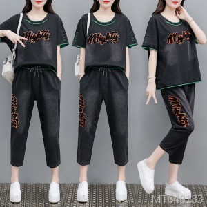 2020 new meat cover letter retro casual suit